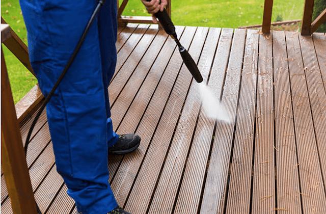 deck cleaning elk grove